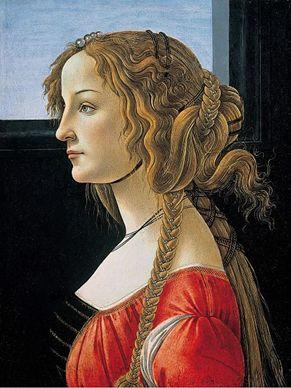 Poträtt av en kvinna