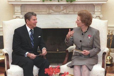 Reagan och Thatcher
