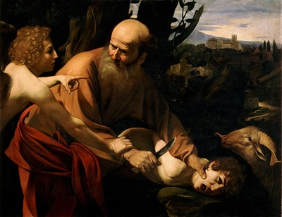 Abraham and the sacrifice of his son Isaac