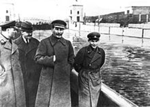 Stalin och Yezhov